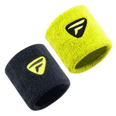 Tecnifibre Wristbands - Assorted Pack of 2