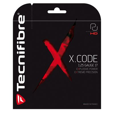 Tecnifibre X-Code 1.25 Tennis String Set