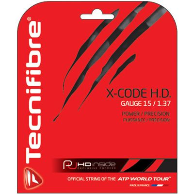 Tecnifibre X-Code HD 1.37 Tennis String Set