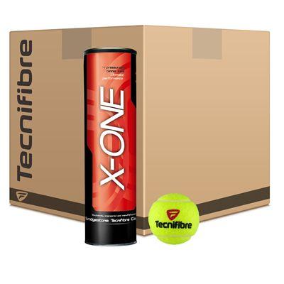 Tecnifibre X-One Tennis Balls - 12 Doz