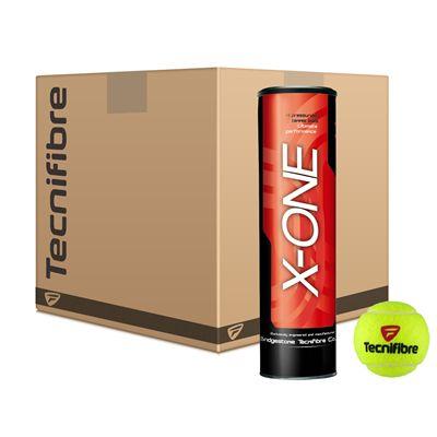 Tecnifibre X-One Tennis Balls - 6 Dozen
