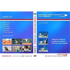 Jez Green Tennis Movement Training Instructional DVD