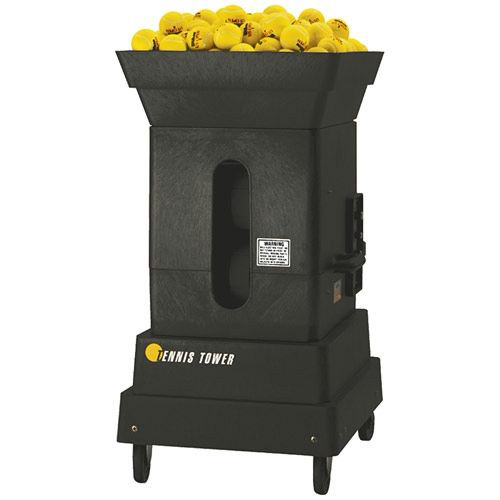 Sports Tutor Tennis Tower Professional Player Tennis Ball Machine