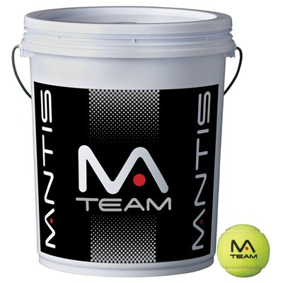 Mantis Team Coaching Tennis Balls Bucket