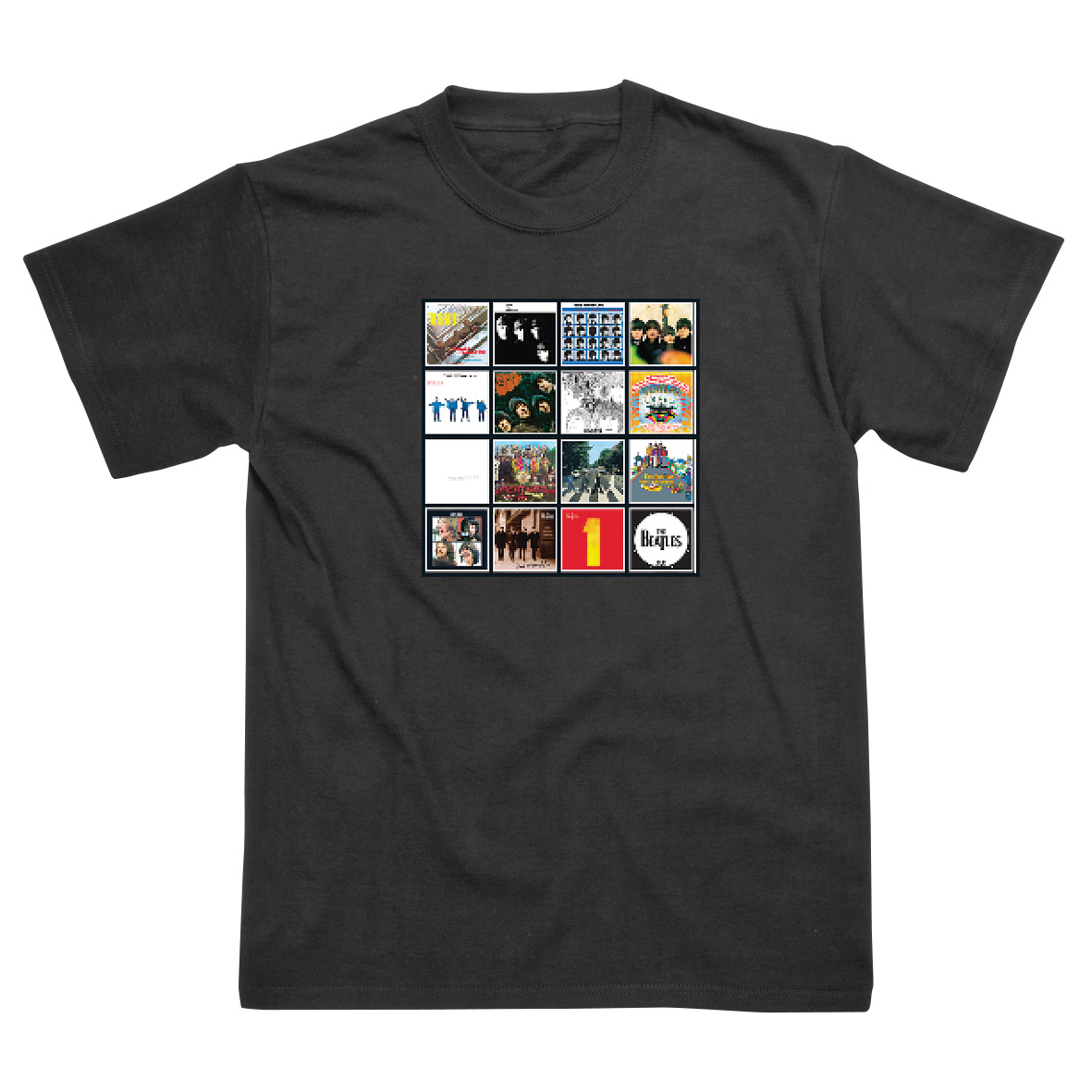 The Beatles Album Covers T-Shirt - S