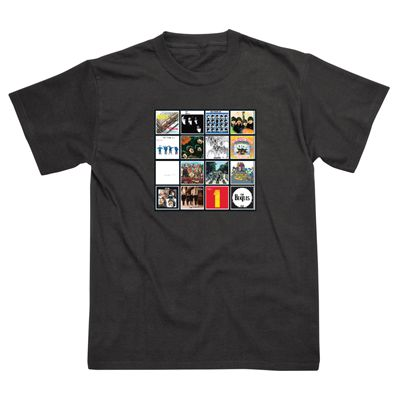 The Beatles Album Covers T-Shirt