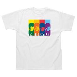 The Beatles Retro Rainbow T-Shirt