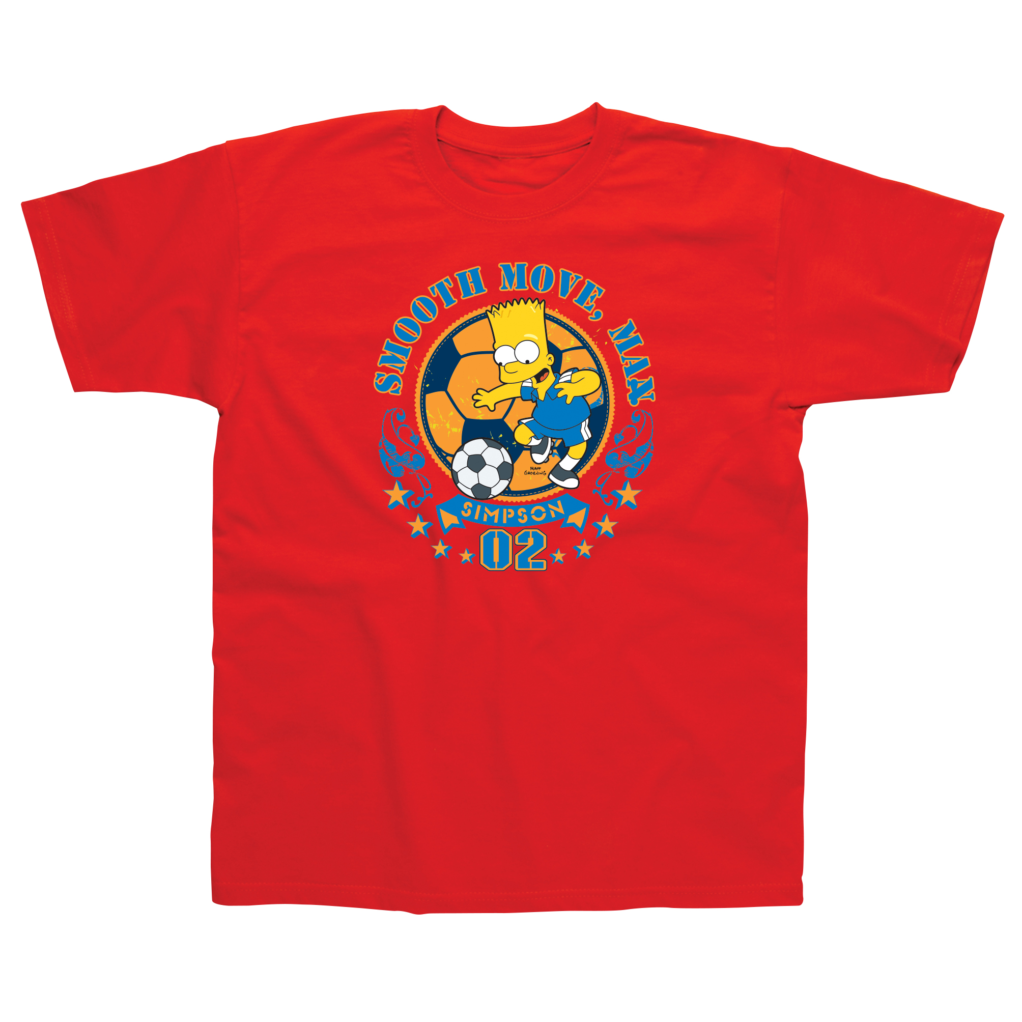 The Simpsons Bart Smooth Moves Kids T-Shirt - 3 - 4 Years