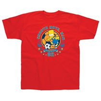 The Simpsons Bart Smooth Moves Kids T-Shirt