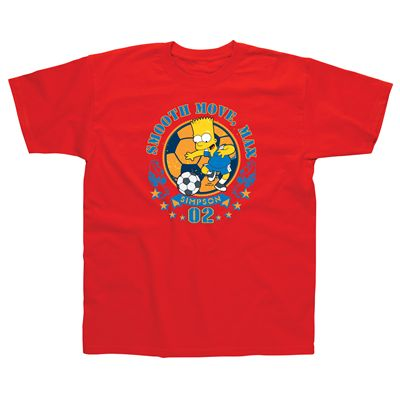 The Simpsons Bart Smooth Moves Kids T-Shirt - main image