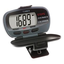 Timex Steps Distance Calories Pedometer