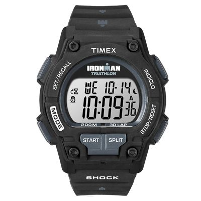Timex T5K196 Mens Ironman Shock Classic 30-Lap Watch