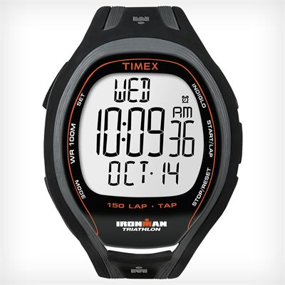 Timex T5K253 Mens Ironman TAP Sleek 150-Lap Watch