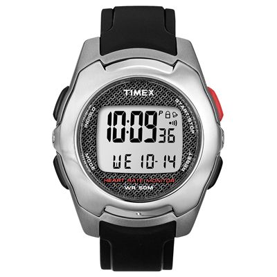 Timex T5K470 Mens Health Touch Contact HRM Watch-2000