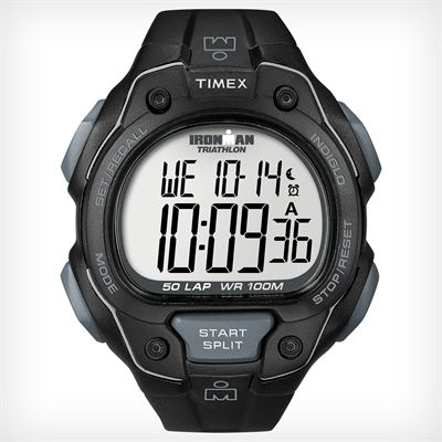 Timex T5K495 Mens Ironman Traditional 50-Lap Watch