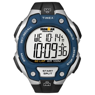 Timex T5K496 Mens Ironman Traditional 50-Lap Watch