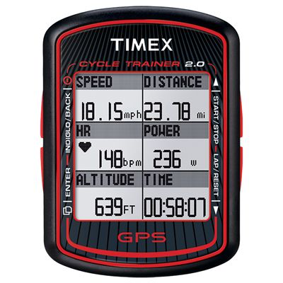 Timex T5K615 Cycle Trainer GPS Bike Computer