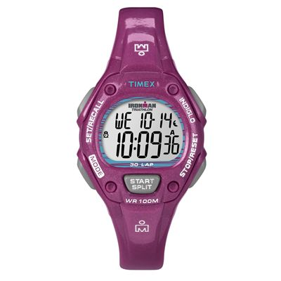 Timex T5K688 Ladies Ironman Traditional Glimmer 30-Lap Watch