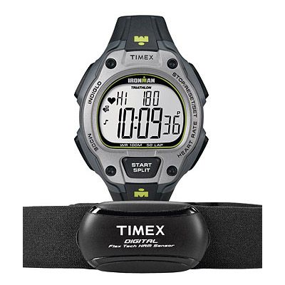Timex T5K719 Mens Ironman Road Trainer Heart Rate Monitor