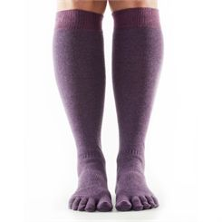 ToeSox Full Toe Casual Knee High Socks