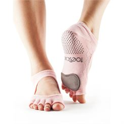 ToeSox Full Toe Dance Plie Grip Socks