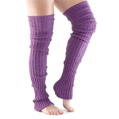 ToeSox Thigh High Leg Warmer-Purple-One Size
