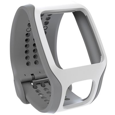 TomTom Cardio Comfort Strap - White and Grey