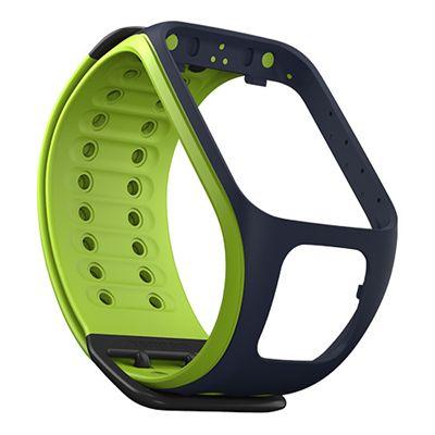 TomTom Large Watch Strap-Dark Blue-Green