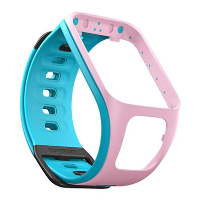 TomTom Small Watch Strap-Blue-Pink