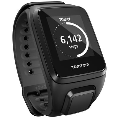 TomTom Runner 2 Cardio Large Heart Rate Monitor-Black-Image 7