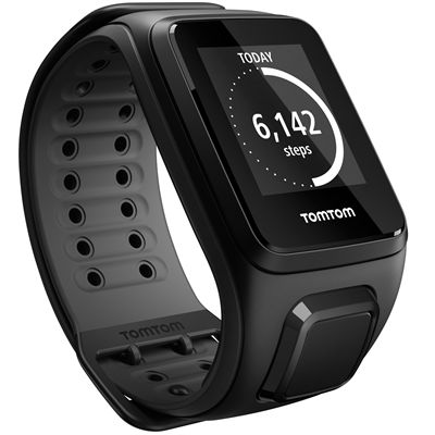 TomTom Runner 2 Cardio Large Heart Rate Monitor-Black-Image 9