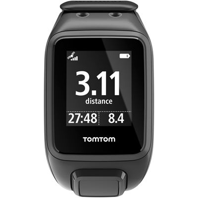 TomTom Runner 2 Cardio Large Heart Rate Monitor-Black