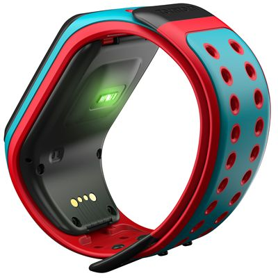 TomTom Runner 2 Cardio Large Heart Rate Monitor-Blue and Red-Image 3