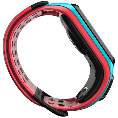 TomTom Runner 2 Cardio Music Large Heart Rate Monitor-Scuba Blue and Red-Image