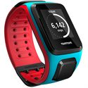 TomTom Runner 2 Cardio Music Large Heart Rate Monitor-Scuba Blue and Red-Image 5
