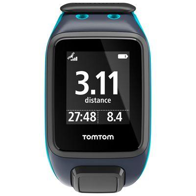 TomTom Runner 2 Cardio Music Large Heart Rate Monitor-Sky Captain Blue-Image 2