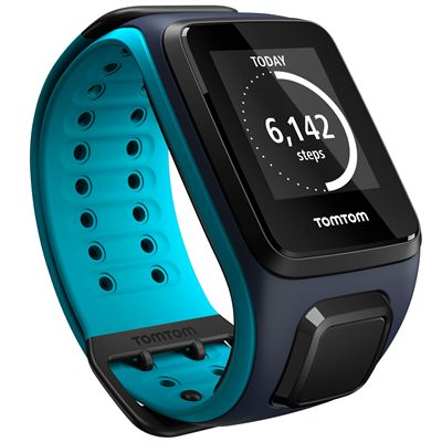 TomTom Runner 2 Cardio Music Large - Angle View