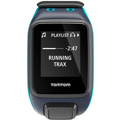 TomTom Runner 2 Cardio Music Large - Front View