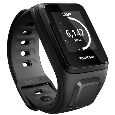 TomTom Runner 2 Cardio Small Heart Rate Monitor-Black-Image 10