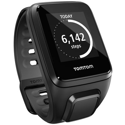 TomTom Runner 2 Cardio Small Heart Rate Monitor-Black-Image 7