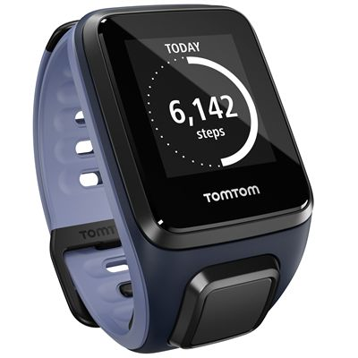 TomTom Runner 2 Cardio Small Heart Rate Monitor-Blue and Purple-Image 8