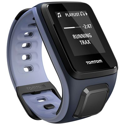 TomTom Runner 2 Cardio Small Heart Rate Monitor-Blue and Purple-Image 9