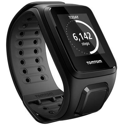 TomTom Runner 2 Large GPS Sports Watch-Scuba Black-Right Activity