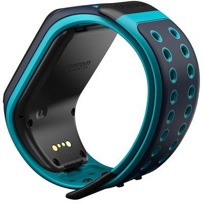 TomTom Runner 2 Large GPS Sports Watch-Scuba Blue-Back
