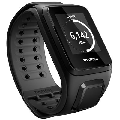 TomTom Runner 2 Music Large GPS Sports Watch-Scuba Black-Right Activity