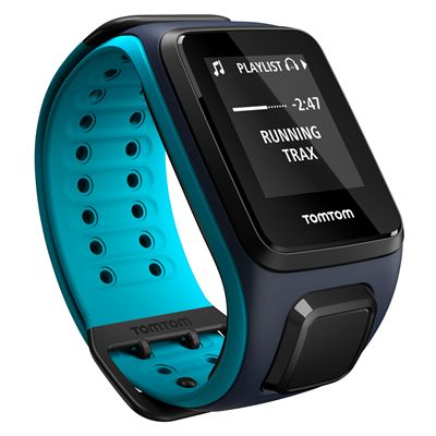 TomTom Runner 2 Music Large GPS Sports Watch with Headphones - Trax