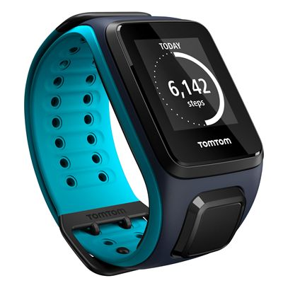 TomTom Runner 2 Music Large GPS Sports Watch with Headphones - Steps