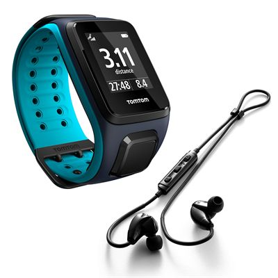 TomTom Runner 2 Music Large GPS Sports Watch with Headphones