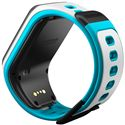 TomTom Runner 2 Music Small GPS Sports Watch-Blue-Back