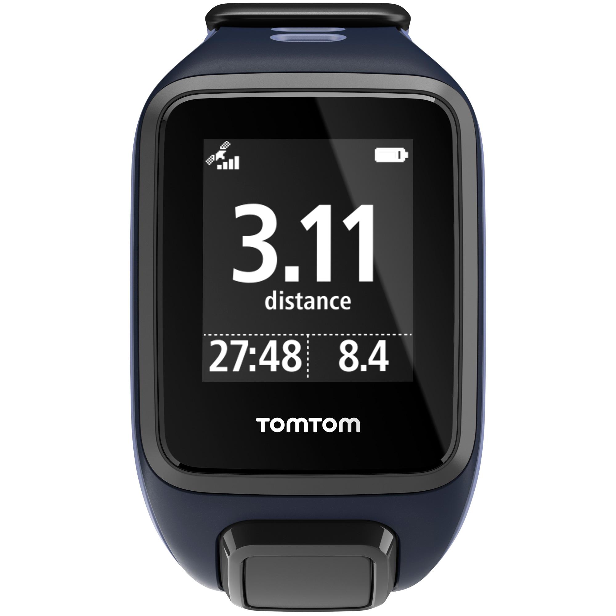TomTom Runner 2 Music Small GPS Sports Watch - Purple/Blue